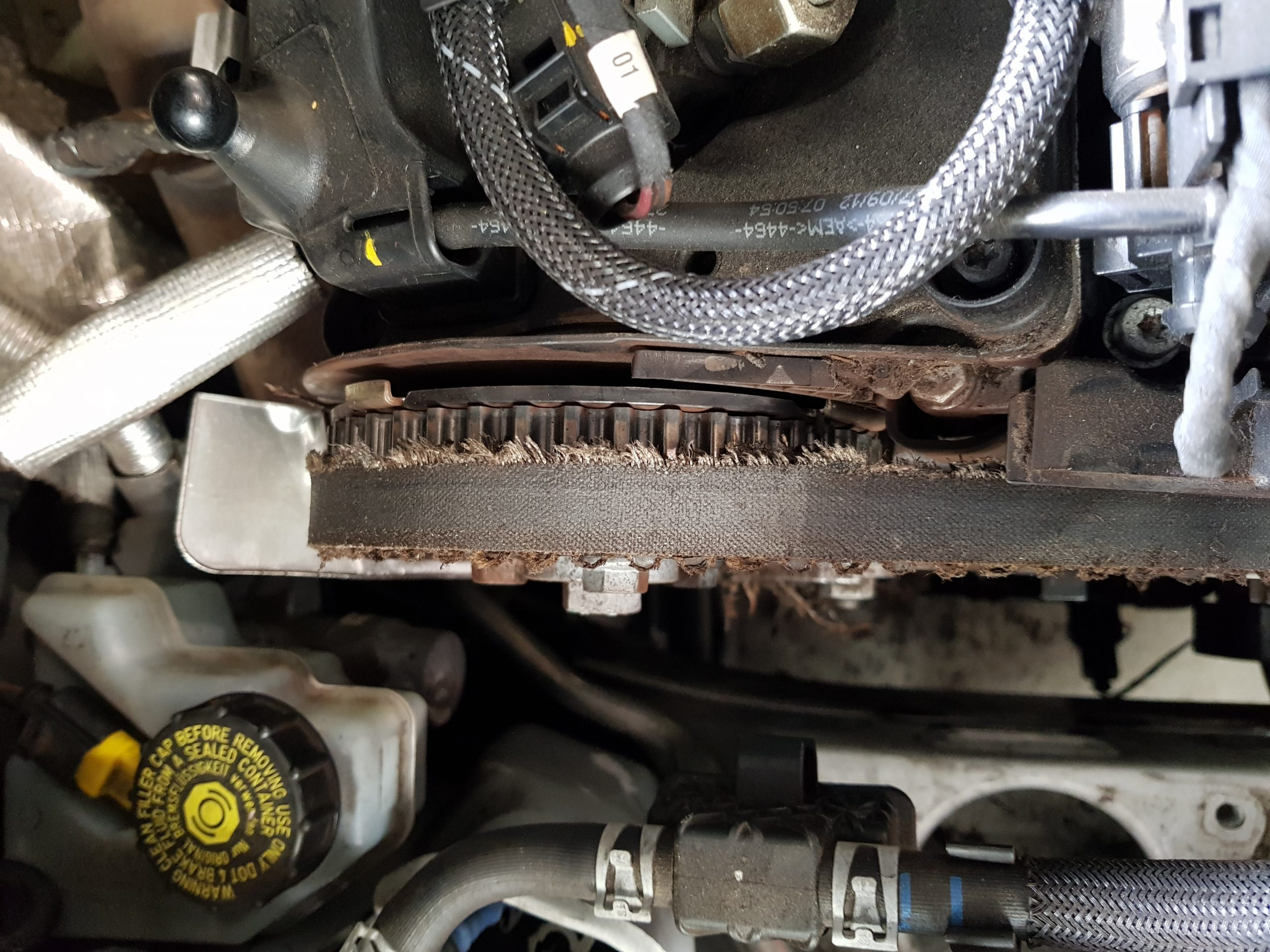 AUDI A1 TIMING BELT FAILURE